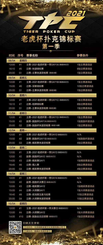 【蜗牛棋牌】2021 TPC老虎杯第一季参赛攻略!