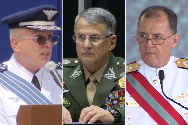 【蜗牛棋牌】巴西陆海空军三位将领于同日卸任 未提及继任人选