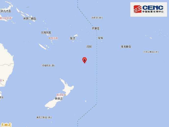 【蜗牛棋牌】新西兰克马德克群岛地区附近发生6.7级左右地震