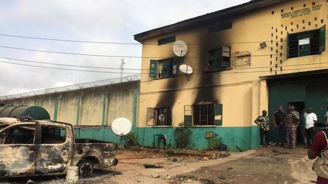 【蜗牛棋牌】尼日利亚一监狱遭袭击 导致1844名囚犯逃脱