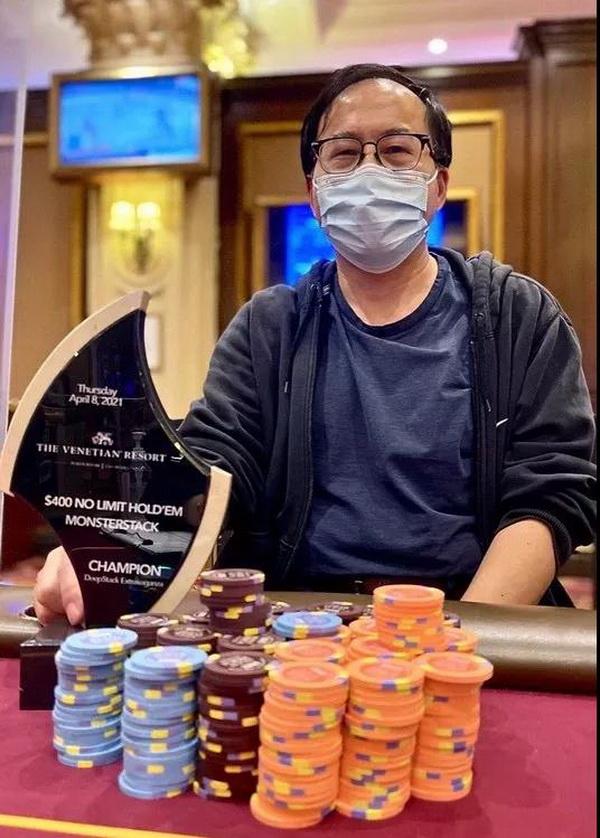 【蜗牛棋牌】华人Qing Liu成为2021年至今现场比赛巡回赛中最热门的选手