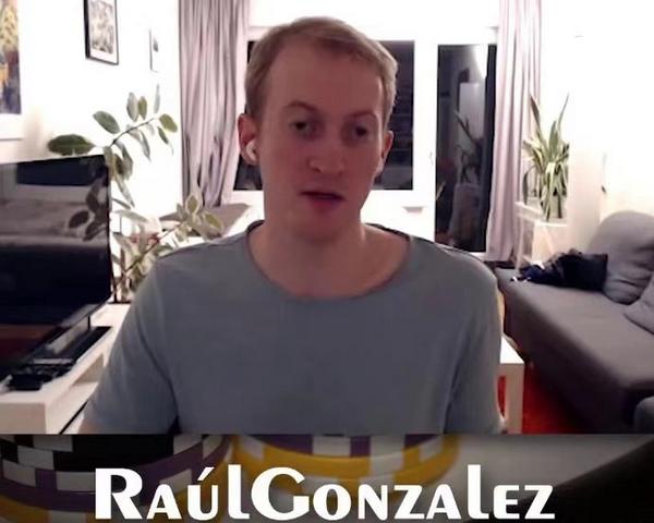 【蜗牛棋牌】高手RaulGonzalez宣布暂时从扑克中退役