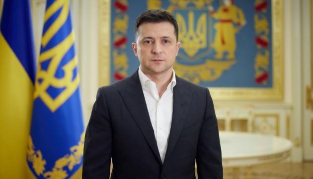 【蜗牛棋牌】乌克兰总统泽连斯基就顿巴斯局势等发表视频讲话