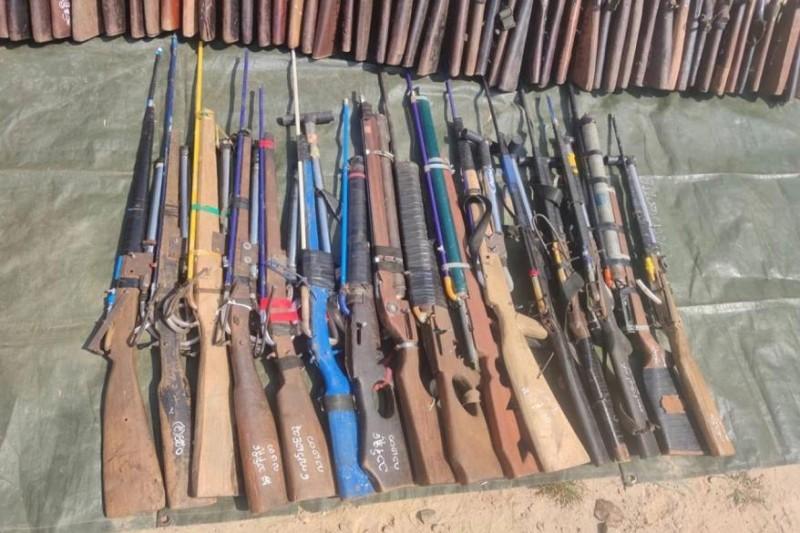 【蜗牛棋牌】缅甸军方加大对民间私人持有枪支武器收缴力度