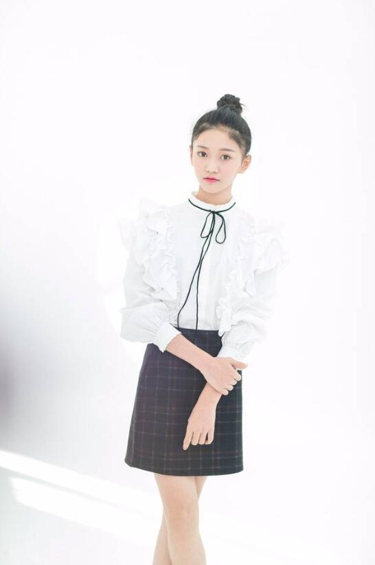 【蜗牛棋牌】张译兮 内地小清新女演员美照分享及个人资料