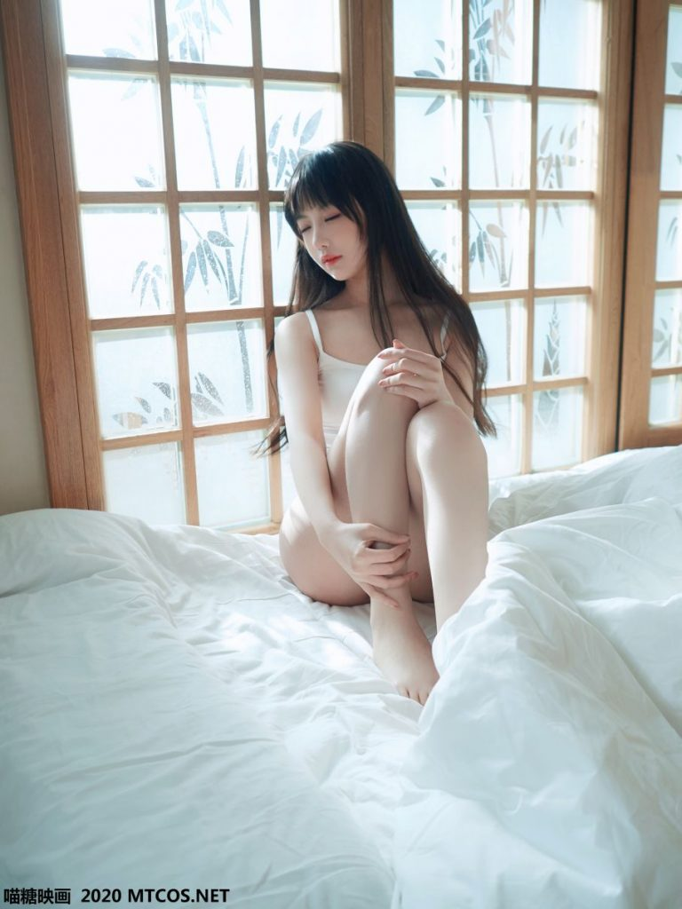 【蜗牛棋牌】[喵糖映画] 日系白T私房