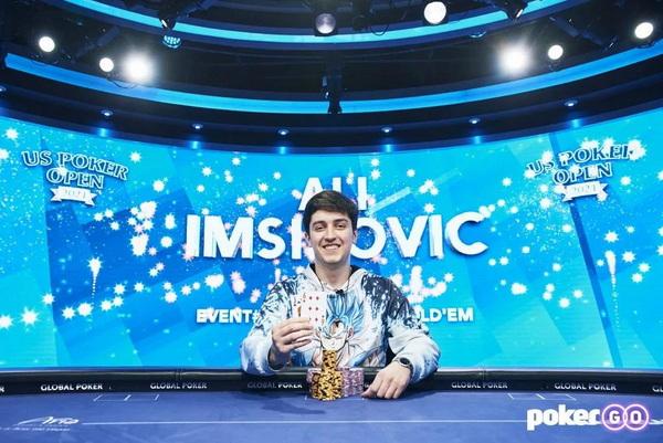 【蜗牛棋牌】Ali Imsirovic赢得今年的第六个豪客赛冠军