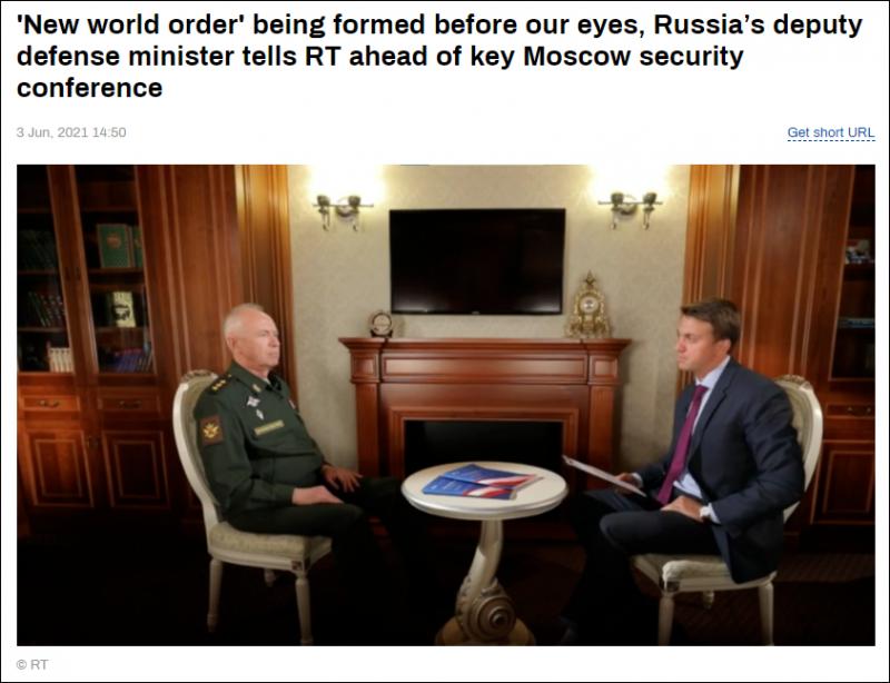 【蜗牛棋牌】俄罗斯副防长:全球开始进入新一轮冷战