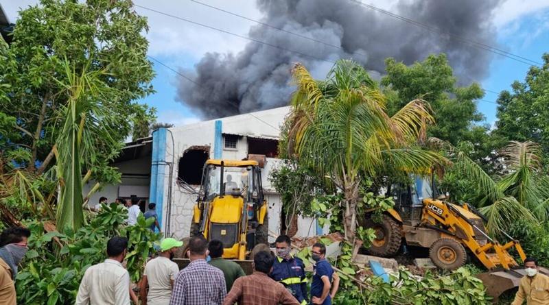 【蜗牛棋牌】印度西部城市浦那一工厂发生火灾 至少12人死亡