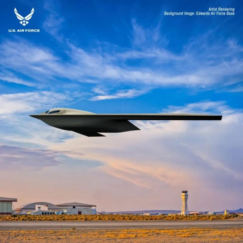 【蜗牛棋牌】美国空军公布未来轰炸机效果图
