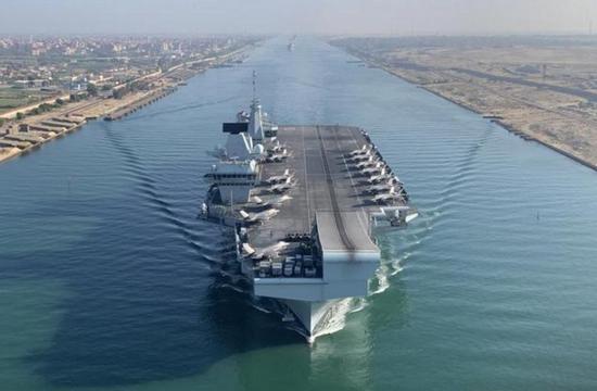 """【蜗牛棋牌】英国为""""黑海碰壁""""狡辩,扬言要开航母来南海"""