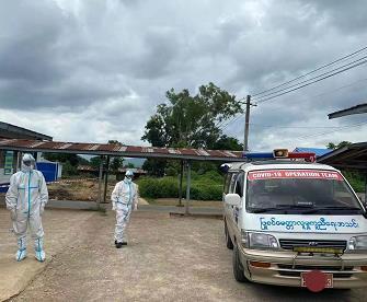 【蜗牛棋牌】缅甸曼德勒省与勃固省共八个镇区实施新冠防疫限行令