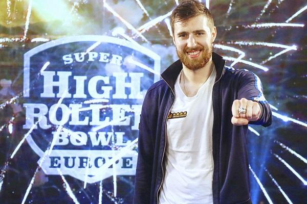 【蜗牛棋牌】Wiktor Malinowski赢得超级碗豪客赛欧洲站主赛冠军