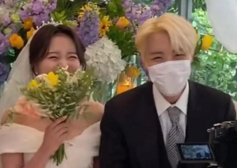 【蜗牛棋牌】J-Hope索爆姐姐结婚嫁人 BTS成员现身婚礼祝贺